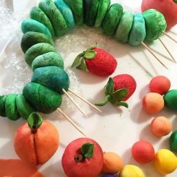 The Hungry Caterpillar Cake